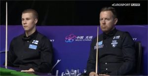 Eurosport Player Robin Hull ja Heikki Niva